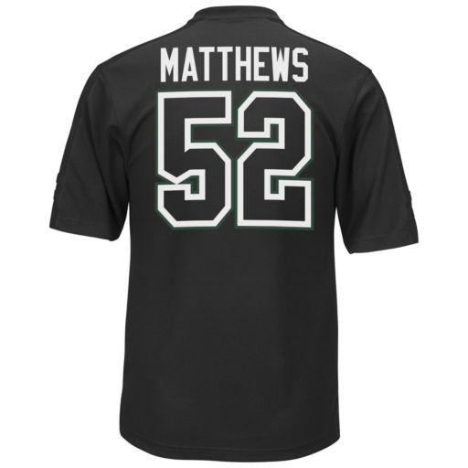 Men's Majestic Green Bay Packers Clay Matthews Hashmark Player Top