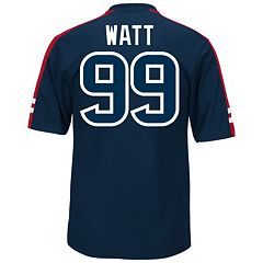Men's Majestic Houston Texans JJ Watt Hashmark Player Top