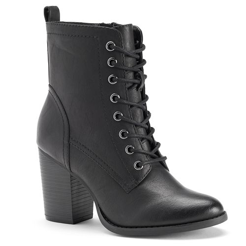 Candie's® Women's High Heel Ankle Boots