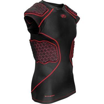 Rawlings 5-Pad D-Flexion Compression Shirt - Adult