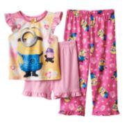 Despicable Me Minion & Cupcake Pajama Set - Toddler Girl