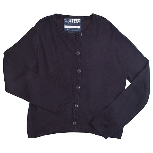 Girls 7-14 French Toast School Uniform Button-Front Cardigan