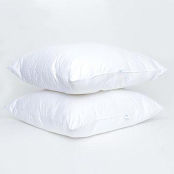 Sealy EnviroLoft Down-Alternative 2-pk. Euro Pillows
