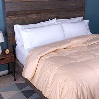 Sealy Posturepedic 300-Thread Count Down-Alternative Comforter