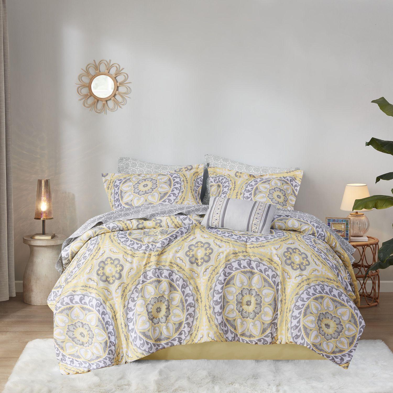 nike free og grey yellow comforter
