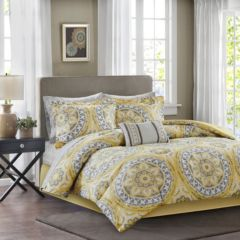 yellow and grey comforter Yellow Comforters   Bedding, Bed & Bath | Kohl's yellow and grey comforter