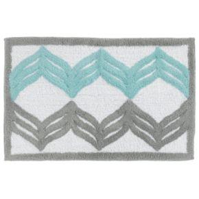 Mondrian Chevron Bath Rug
