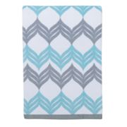 Mondrian Chevron Bath Towel