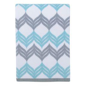 Mondrian Chevron Bath Towel