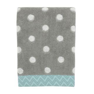 Mondrian Dot Jacquard Bath Towel