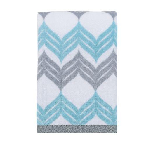 Black And White Chevron Hand Towels: Mondrian Chevron Hand Towel