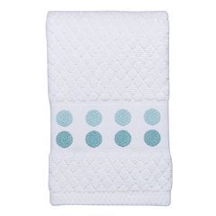 Mondrian Dot Embroidered Hand Towel