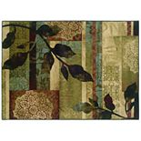 StyleHaven Hartley Floral Geometric Rug