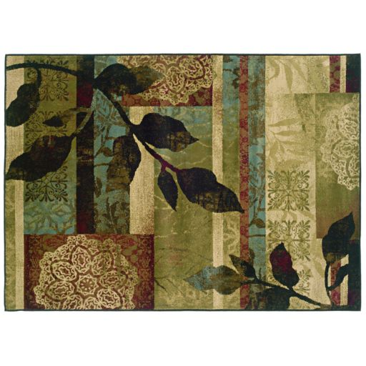 StyleHaven Huntington Floral Geometric Rug