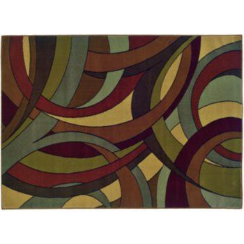StyleHaven Hartley Geometric Curves Rug