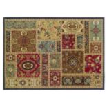 Oriental Weavers Huntington Floral Block Rug