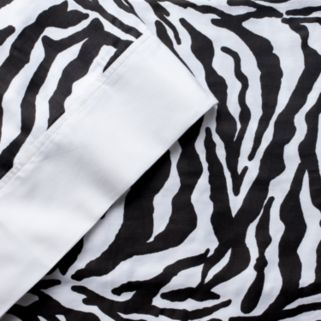 Elite Home Products 300-Thread Count Animal Print Sheets