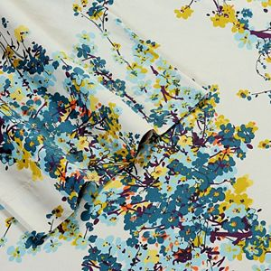 Casablanca Floral 300-Thread Count Egyptian Cotton Sateen Deep-Pocket Sheets