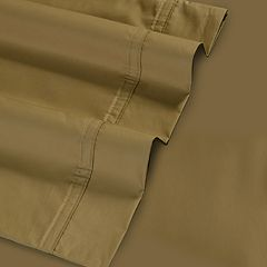 Solid 500-Thread Count Egyptian Cotton Sateen Deep-Pocket Sheets