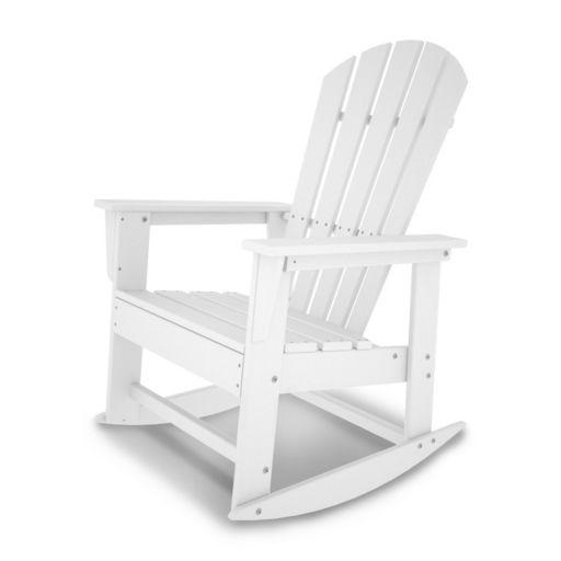 POLYWOOD® South Beach Outdoor Rocking Adirondack Chair