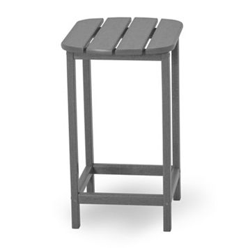 POLYWOOD® South Beach Outdoor Gray Counter Table