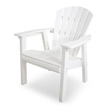 POLYWOOD® Seashell Outdoor Casual Chair