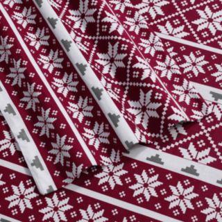 Print Deep-Pocket Flannel Sheets