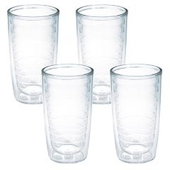 Tervis 4 pc Clear Tumbler Set
