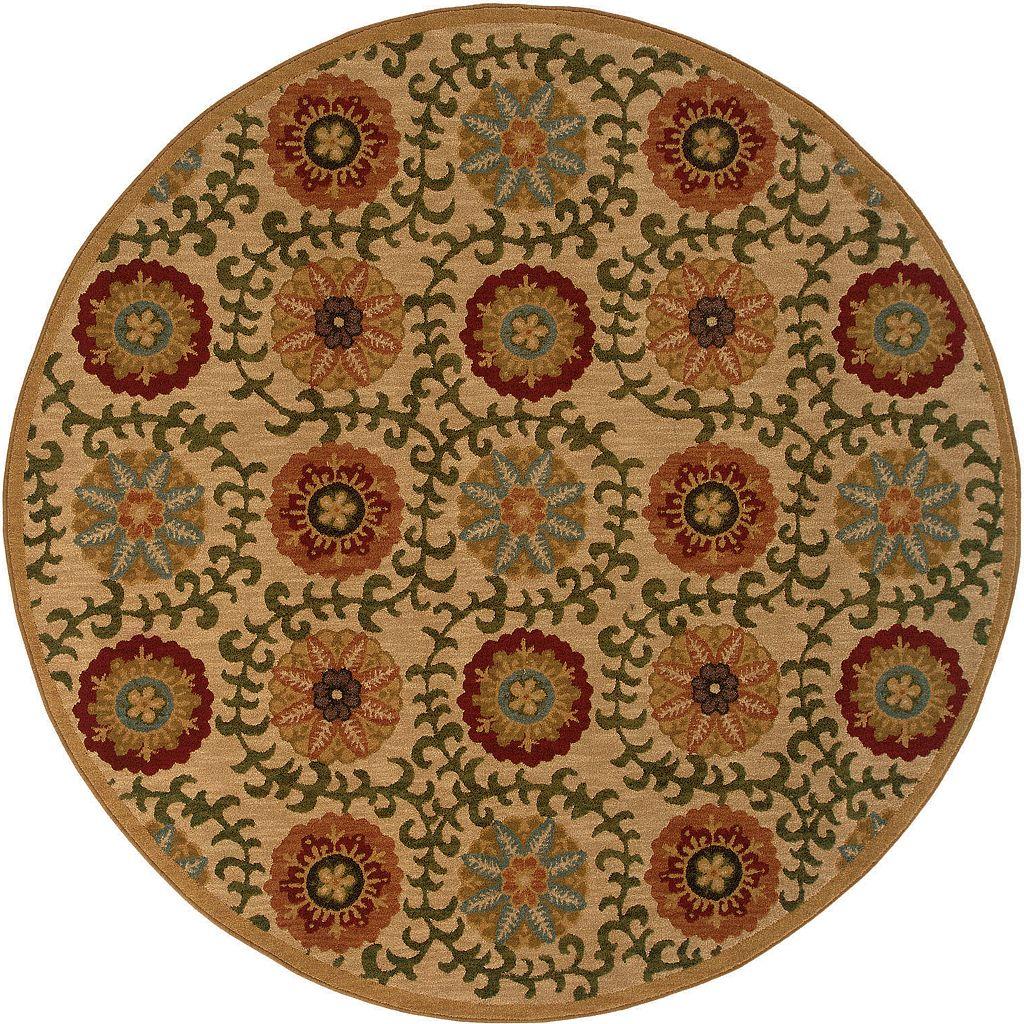 Oriental Weavers Infinity Floral Medallion Rug