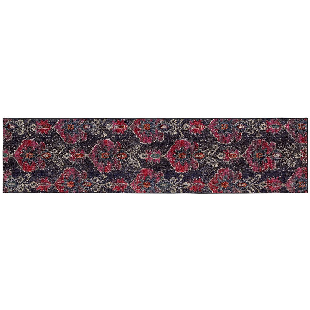 StyleHaven Kameron Distressed Abstract Rug