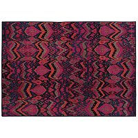 Oriental Weavers Kaleidoscope Pink Abstract Rug