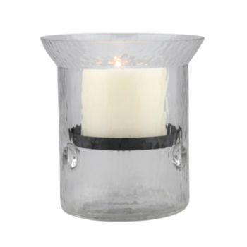 Stonebriar Collection Small Hurricane Candleholder