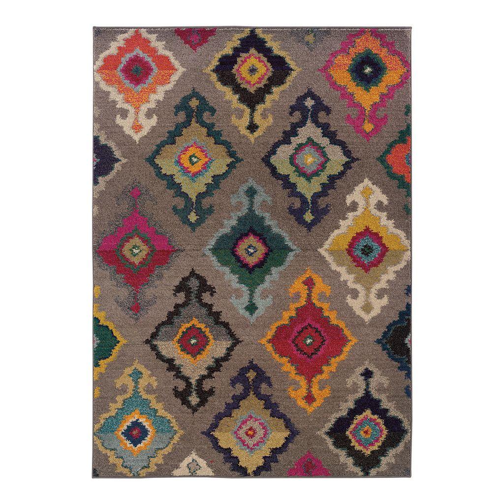 Oriental Weavers Kaleidoscope Geometric Rug