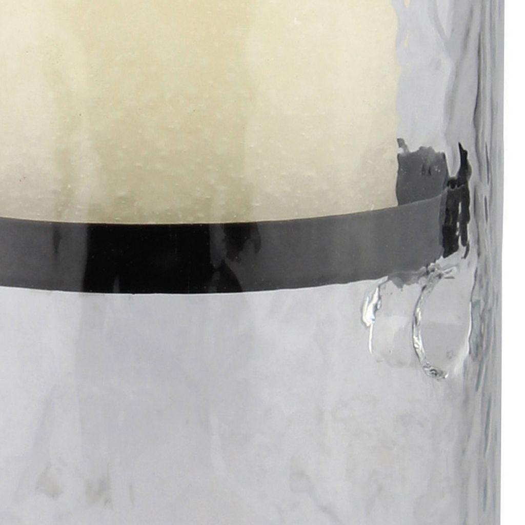 Stonebriar Collection Large Hurricane Candleholder