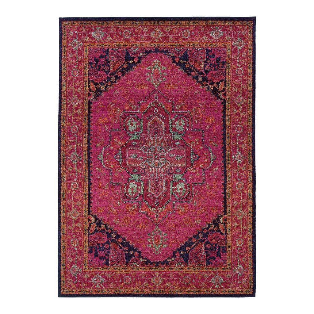 Oriental Weavers Kaleidoscope Framed Rug