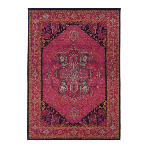 Oriental Weavers Kaleidoscope Framed Rug