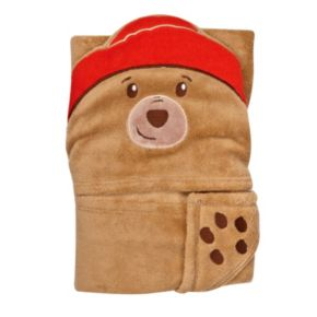 Paddington Bear Hooded Baby Blanket by Trend Lab