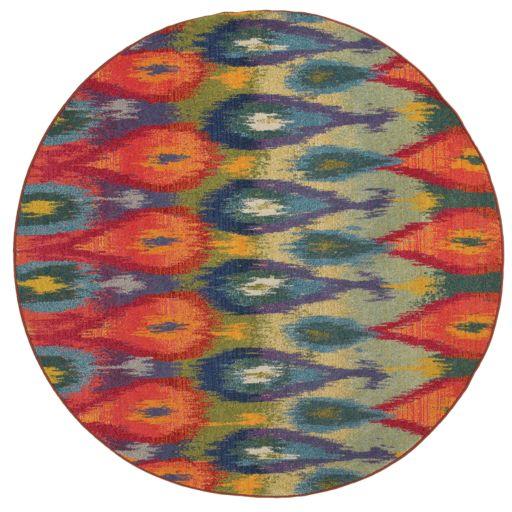 StyleHaven Kameron Abstract Teardrop Rug