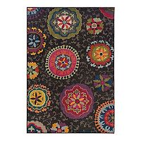 Oriental Weavers Kaleidoscope Medallion Floral Rug