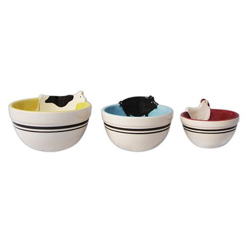 SONOMA Goods for Life™ Homestead 3-pc. Nesting Bowl Set