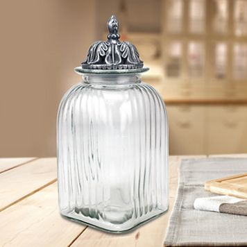 Stonebriar Collection Large Canister
