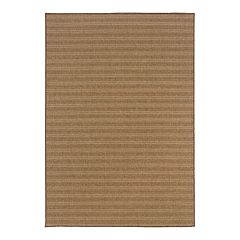 StyleHaven Kendall Striped Faux Sea Grass Indoor Outdoor Rug