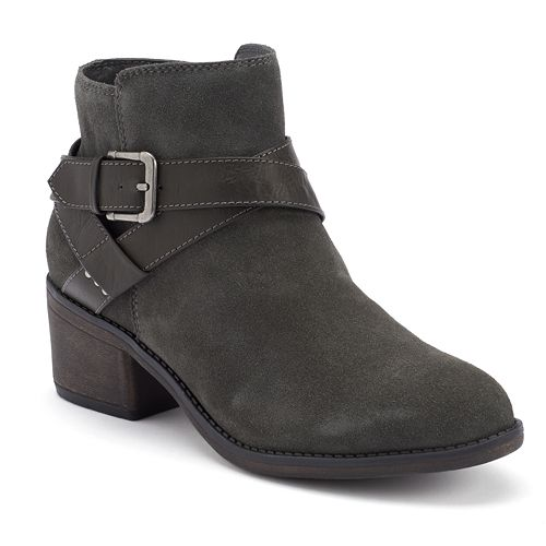 SONOMA Goods for Life™ Women's Buckle Suede Ankle Boots