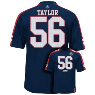 Men's Majestic New York Giants Lawrence Taylor Hall of Fame Hashmark Player Top
