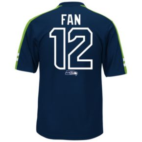 Men's Majestic Seattle Seahawks Fan Hashmark Player Top