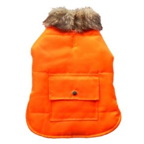 Royal Animals Puffer Dog Coat with Pocket