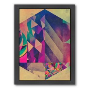 Americanflat Modern Geometric Framed Wall Art
