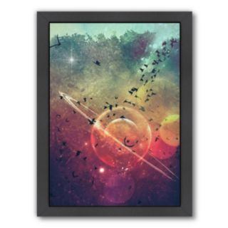Americanflat Geometric Space Framed Wall Art