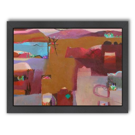 Americanflat ''Valley of Kasbahs'' Framed Wall Art