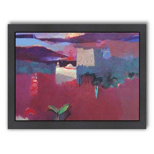 Americanflat ''The Valley of the Roses'' Framed Wall Art